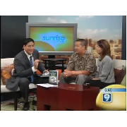 Evan and Kari talk to Steve Uyehara on Sunrise